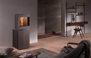 Poele A Granules Design Contemporain : poele a pellets granules stuv p10 st v ~ Premium-room.com Idées de Décoration