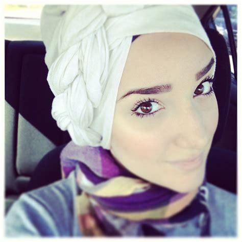 hijab tutorial  side braid turban  hijabs