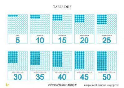 table de multiplication de 50 les planches de multiplication montessori today