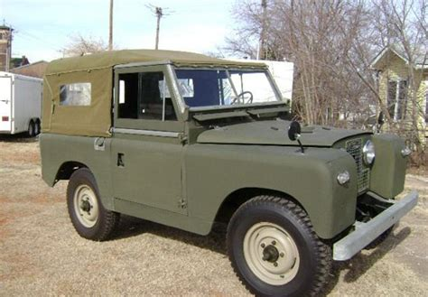 land rover defender  soft top classic