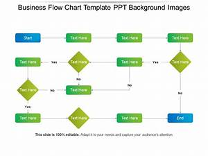 Business Flow Chart Template Ppt Background Images