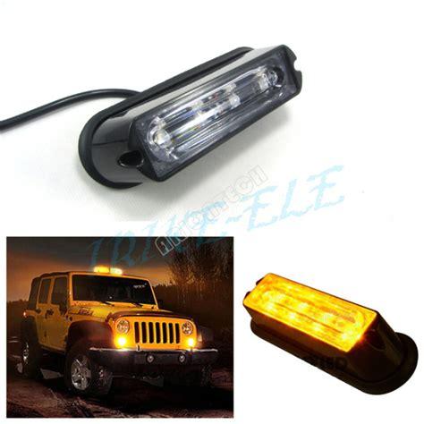 safety strobe lights for trucks 12v 24v super bright 4 led waterproof car truck emergency