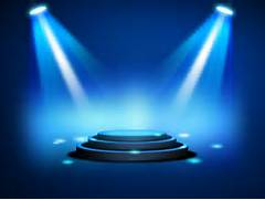 game show background lights ppt backgrounds