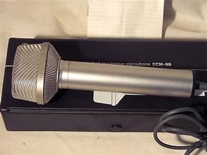 Sony Stereo Electret Condenser Microphone Ecm