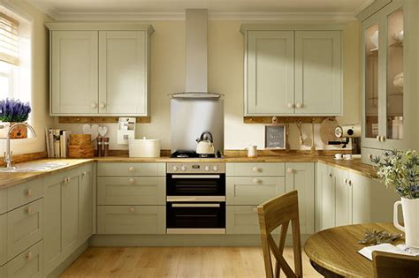 oxford olive green kitchen traditional shaker range
