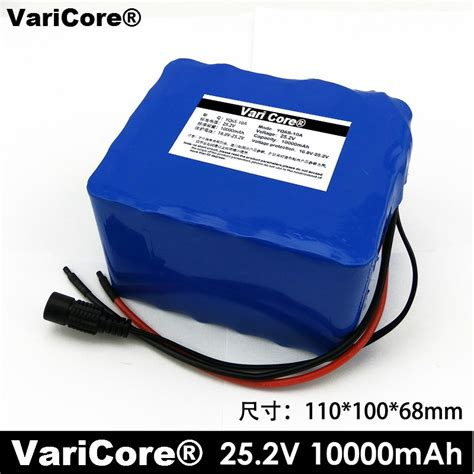 24v 10ah 6s5p lithium battery installed battery electric