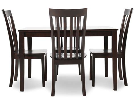 5 dining set mathis brothers
