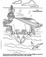 Coloring Carrier Aircraft Armed Forces Military Navy Uss Printable Army Air Constellation Patriotic Colouring Ship Drawing Sheets Patrioticcoloringpages Adult Force sketch template