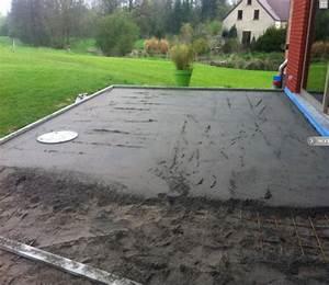 Dosage Beton Terrasse : terrasse bton liss free pack granulat rsine pour terrasse ~ Premium-room.com Idées de Décoration