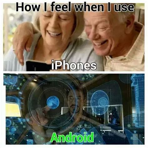 Iphone User Meme - adding more fuel to the android vs iphone fire dhtg