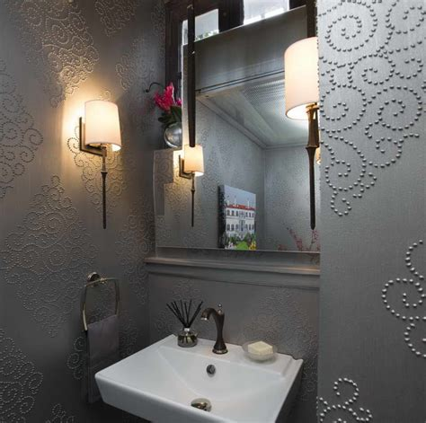 ideas for a bold and beautiful powder room