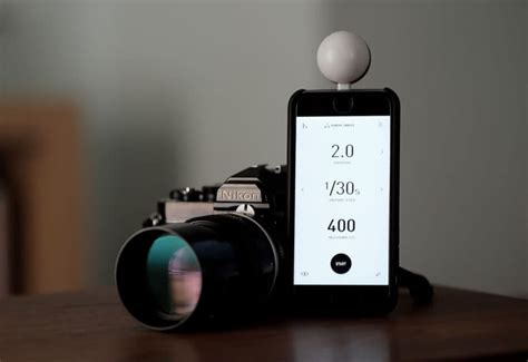 Lumu Light Meter by Review Lumu Power Turns Iphone Into A Photographer S