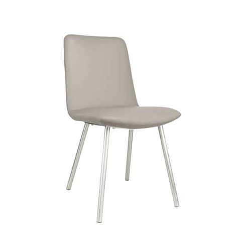 4 pieds 4 chaises givors chaise avec coque rembourrée revêtue en synthétique et