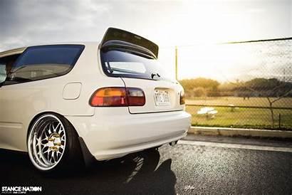 Eg Civic Honda Hatchback Stanced Vtec Hatch
