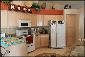 best ideas to select paint color for a small kitchen to With kitchen colors with white cabinets with ways to display art on walls