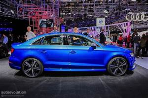 2017 Audi Rs3 Sedan Drops By The 2016 Paris Motor Show