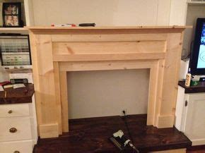 kitchen cabinets how to build best 25 faux mantle ideas on faux fireplace 8065