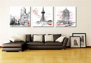 aliexpresscom buy 3 piece canvas art home decoration With kitchen colors with white cabinets with canvas wall art set
