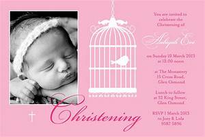 Baptism Invitations For Girl : Free Christening Invitation ...