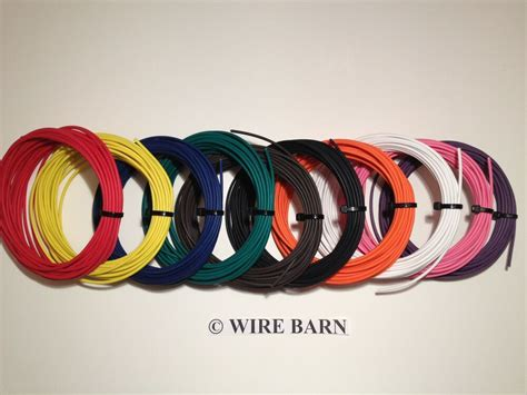 10 colors automotive wire 20 gauge txl high temp wire