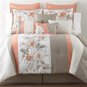 home expressions grace 10 pc comforter set accessories jcpenney