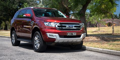 2018 Ford Everest Trend Review Caradvice