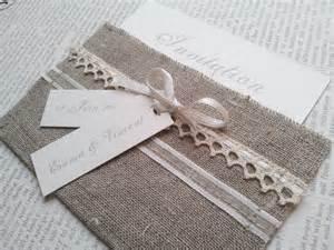 invitation mariage original quot invitation romantique quot lot de 10 faire part mariage pochette et écru faire part par envieda