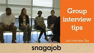 Job Interview Tips  Part 4   Group Interview Tips
