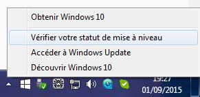 annuler la r 233 servation de windows 10