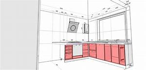 How To Draw A Kitchen Layout