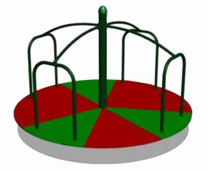Playground Clip Clipart Merry Round Cartoon Cliparts