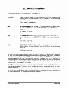 personal loan guarantor letter sample best photos of With personal surety template