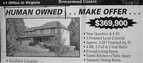 For Sale By Typochallenged Owner Funny Real Estate Ads