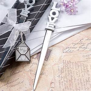 Love design letter opener favors partysuppliesdelivered for Letter opener party favors