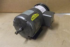 Baldor Electric Motor - Mm3457 - 0 34hp - 3 Phase - 208-230  460 Volt