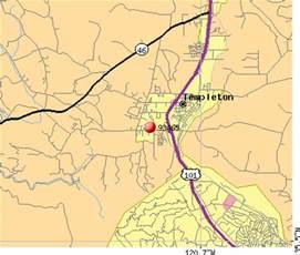 Templeton CA Map