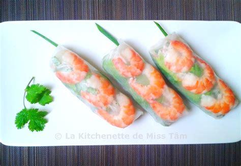 cuisine vietnamienne recettes rouleaux de printemps ou d 39 été gỏi cuốn la