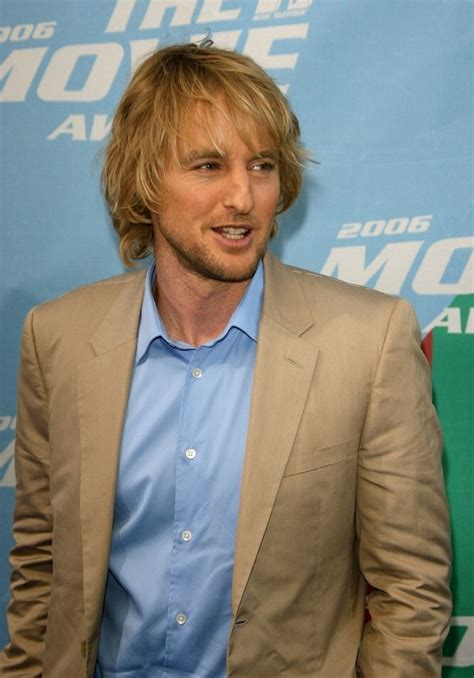 owen wilson long layered haircut styled  conceal  receding hairline