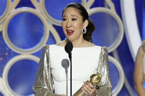 sandra oh acceptance speech sandra oh wins best actress in a tv drama for killing eve