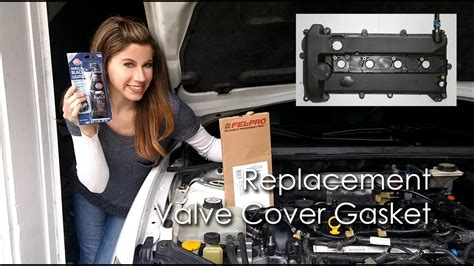 valve cover gasket replacement youtube