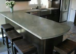 Diy Concrete Kitchen Countertops by Diy Concrete Countertops For The Home Pinterest
