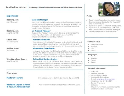 Ecommerce Sales Manager Resume by Agm Resume