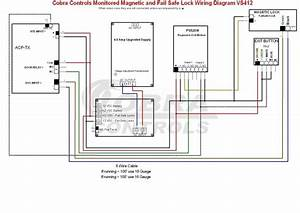 Wiring Diagram Of Door Access Control System