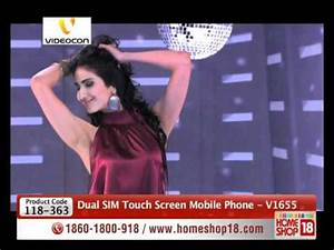 HomeShop18 - Videocon Dual SIM Touch Screen Mobile Phone ...
