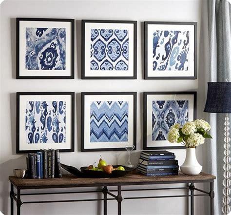 framed fabric   cheap wall art