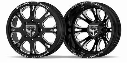 D002 Lug Wheels Dually Forged Specialty Request