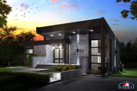 designer zen contemporain lap0508 maison laprise maisons pr 233 usin 233 es