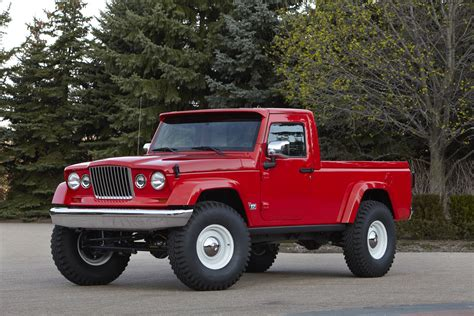 jeep concept truck gladiator jeep continues to test the water with a pair of pickup