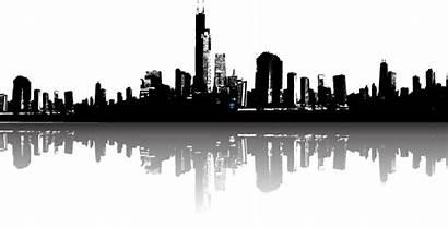 Skyline Silhouette Cityscape Transparent York Clipart Scape