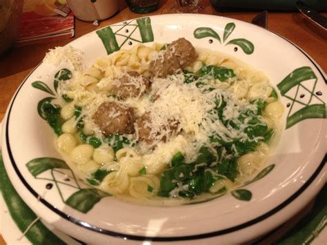 olive garden wedding soup
